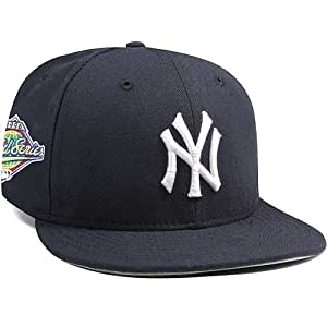NEW YORK YANKEES Mariano Rivera 1996World Series Patch New Era 59FIFTY Fitted Casquette Taille 73/8