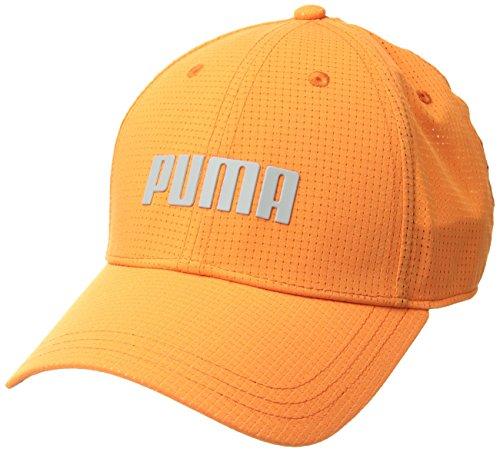 Puma Golf 2018Herren Mütze Breezer, Herren, 0214330, Vibrant Orange, L/XL