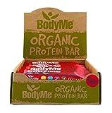 BodyMe Bio Vegane Protein Riegel | Roh Rote Beete Beere | 12 x 60g | Mit 3 Pflanze Proteine