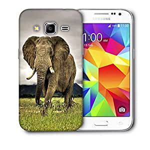 Snoogg Baby Elephant Following Printed Protective Phone Back Case Cover For Samsung Galaxy Core Plus G3500