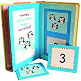 Boys Girls Toddlers Infants Baby Children Kids - Early Learning My First Numbers Counting Flashcards Box Set - Top Reviewed Educational - Easter Alternative Gift Present Early Learning Games & Toys Idea Age 12m+ Pre School Learning Set
