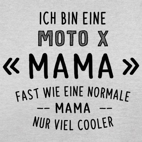 Ich bin eine Moto-X Mama - Herren T-Shirt - 13 Farben Hellgrau
