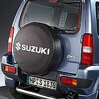 Suzuki - Cubierta para Rueda de Repuesto Jimny, sin Placa, diseño con la Letras