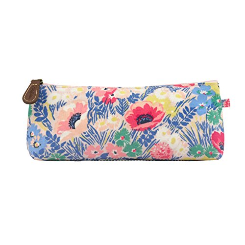 cath-kidston-large-pencil-case-make-up-bag-cosmetic-case-matt-oilcloth-winfield-flowers-multi