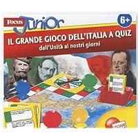 LISCIANIGIOCHI GT34208 GIOCO FOCUS JUNIOR UNITA D ITALIA