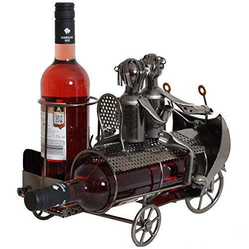 Ustensiles de cuisine brubaker porte bouteille de vin for Porte bouteille decoratif