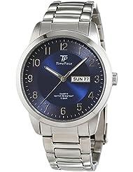 Time Piece Herren-Armbanduhr Sporty Analog Quarz Edelstahl TPGS-30307-32M