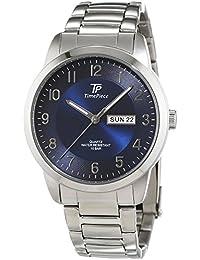 Reloj de pulsera para hombre-reloj analógico de cuarzo Pulsera de acero inoxidable TPGS-30307-32M