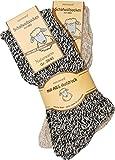 normani 2 Paar Schafwollsocken mit ABS Haussocken mit Schafwolle