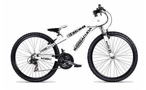 Barracuda Boy's Icon Alloy 18-speed Cycle Jump Bike - White/Black,