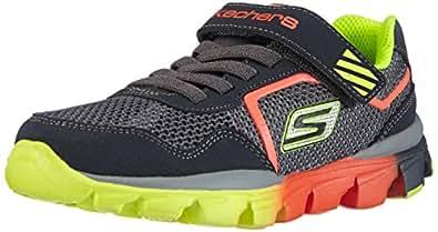Skechers Go Run Ride Lil Rider, Boys' Running Shoes, Grey (Ccor), 1.5 UK