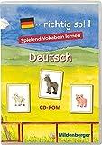 ...richtig so! 1. Deutsch. CD-ROM für Windows ab 98SE: Einzellizenz. 1. bis 4. Klasse