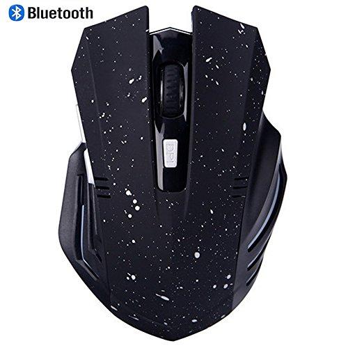 Preisvergleich Produktbild Bluetooth Mouse, EONANT 3.0 Portable Maus mit Wiederaufladbare Wireless USB Maus Leise und Ruhig Click für Notebook, PC, Laptop, Computer, Windows / Android Tablet, Macbook (White Snow)
