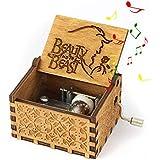 Mano Pura Juego de Tronos clásico Caja de música Mano Caja de música de Madera artesanía