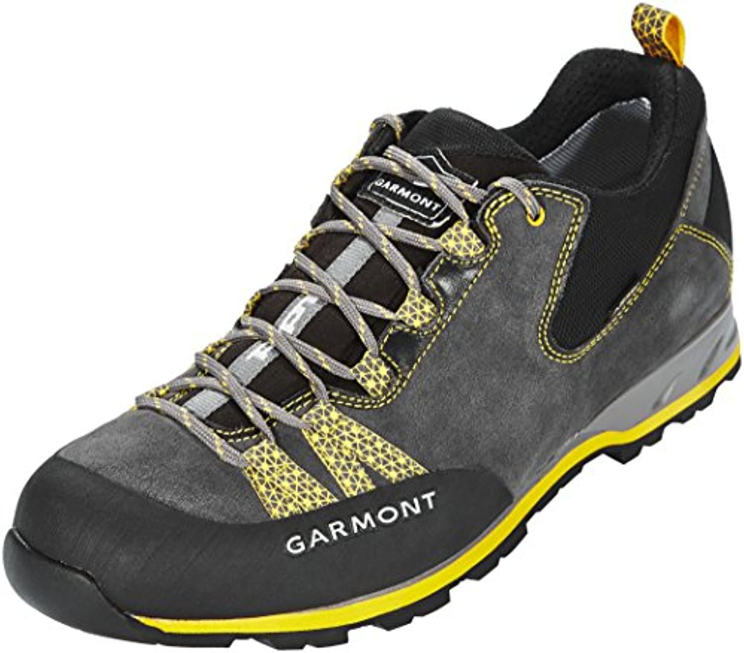 Garmont Mystic Low II GTX Shoes Men Dark Grey/Yellow Schuhgröße UK 10 5 | EU 45 2018 Schuhe