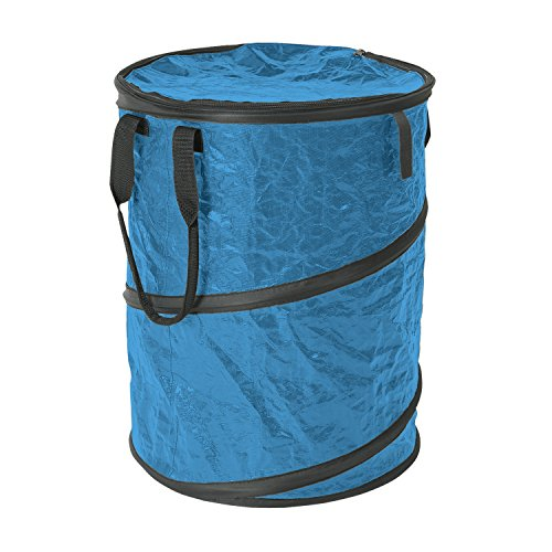 StanSport zusammenklappbar Campingplatz Carry All/Trash kann, blau