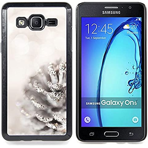 For Samsung Galaxy On5 O5 Case , Blanca Acorn Glitter Nieve Navidad