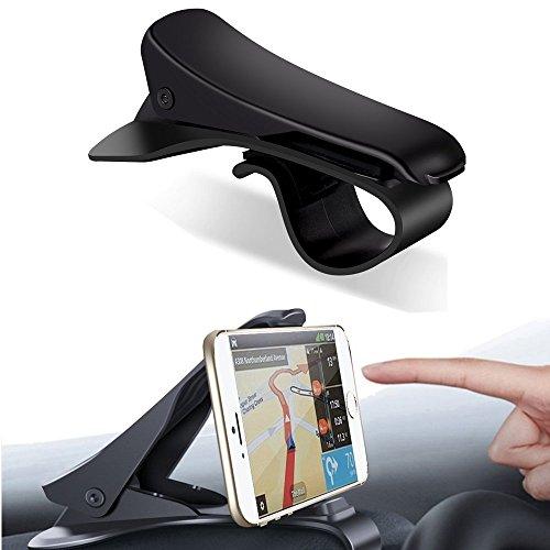 Soporte de coche, soporte de coche HUD diseño, coscod Universal ajustable salpicadero teléfono móvil soporte de coche para conducción segura para iPhone X 8766S Plus, Samsung Galaxy Note 8S8S7S6y todos los otros smartphones