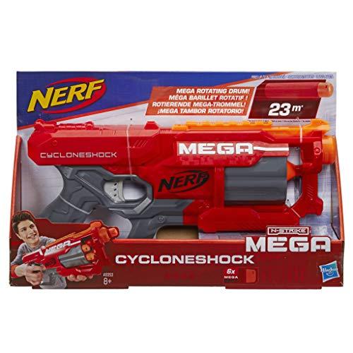 Hasbro Nerf a9353eu7Mega Cyclon eshock, Jouet Blaster