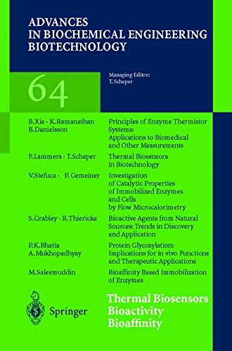 Thermal Biosensors Bioactivity Bioaffinity (Advances in Biochemical Engineering/Biotechnology)