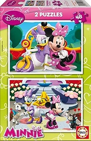 Educa - 15136 - Puzzle - Minnie - 2x48