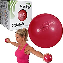 Msd SOFTMED 1,5 Kg balón 12 cm flexible hinchable bola pesas pilates sport