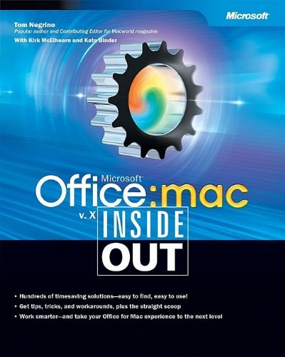 Microsoft?? Office v. X for Mac Inside Out by Tom Negrino (2002-06-29)