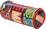 #9: HMI Marvel Avengers PVC Embossed Pencil Bag (Multicolor)
