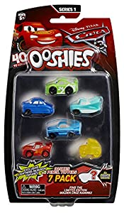 Ooshies Cars 7 Pack Asst - Wave 1