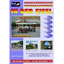 Motorradtouren in der Eifel. Multimedia-CD