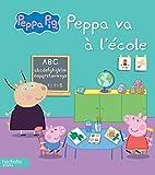 Peppa va à l'école