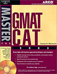 Master the GMAT CAT, 2003/e w/CD-ROM (Petersons Master the GMAT)