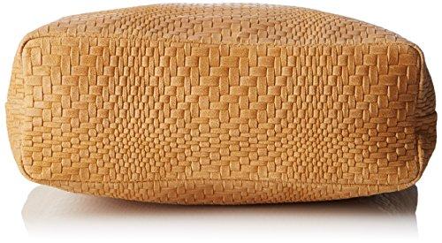 Chicca Borse Damen 80060 Shopper, 40x34x10 Cm Braun (cuoio)