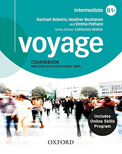 Voyage B1+. Student's Book + Workbook+ Oxford Online Skills Program B1+ (Bundle 1) Pack with Key