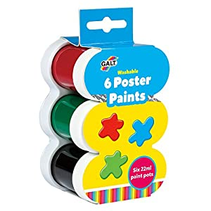 Galt Toys Pinturas Mensaje lavable (6 Piezas)