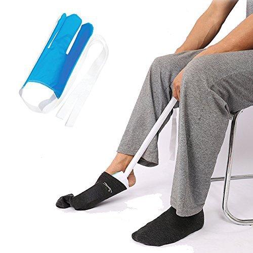 Flexible Socke und Strumpf-Hilfe-Set, Dressing Assist für ältere, Behinderte, und Behinderte, Socke Slider.