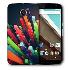 Snoogg Colourful York Designer Protective Back Case Cover For Motorola Nexus 6