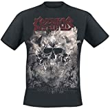 Photo de KREATOR Gods of Violence-Skulls T-Shirt Manches Courtes Noir par KREATOR