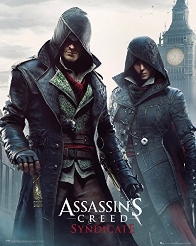 gb-eye-40-x-50-cm-gang-members-assassins-creed-syndicate-mini-posters-multi-colour