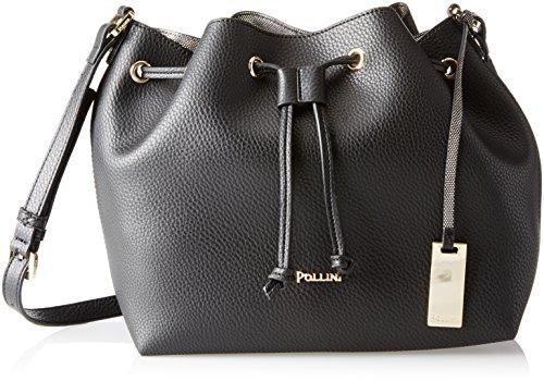 Pollini Bag femme Sacs portés épaule Noir (Nero) 30x14x24 cm (B x H x T)