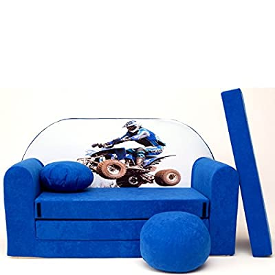 C26+ niños Bar Dormir emergente sofá sofá sofá Mini sofá 3en 1Baby Set +-Sillón infantil y asiento cojín + colchón