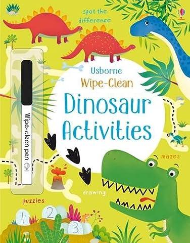 Wipe-Clean Dinosaur Activities (Wipe-Clean Activities)