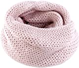 PEARL urban Winter-Schal: XXL-Loop-Schal aus rosa Grobstrick (XXL-Loopschal)