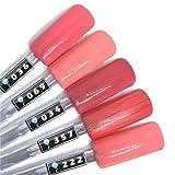 Color Gel 5er Set (je 5ml): Lachsrosa - Kollektion - Gel Lachsrosa, Rosa, Pink