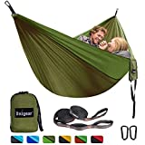 Best Camping Hammocks - Unigear Portable Camping Hammock, 210T Single/Double Parachute Nylon Review