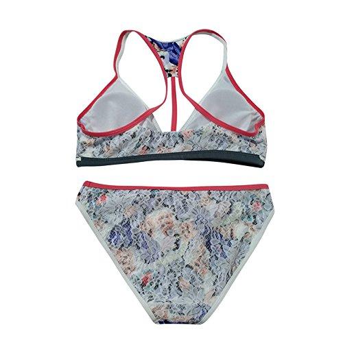 Italily -Nappe Swimwear Bikini Set Patchwork Costumi Da Bagno Donna Due Pezzi Costumi Da Bagno Donna Costume Da Bagno,Push-Up Reggiseno Imbottito Stampa Costume Da Bagno Sexy Donne Multicolor