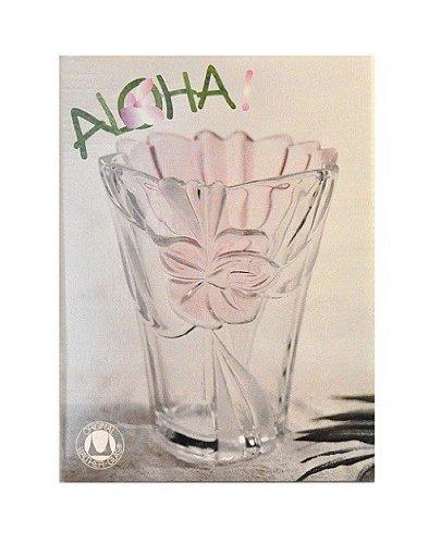 Walther Glas Serie \'Aloha\' Zierschale Glasplatte Glasvase, Motiv:Glasvase 20 cm