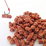 Fishing Bait Pellets, Elastic Red Carp Pellet FAVOLOOK Strong Smell Wheat Protein Baits Coarse Fishing Lures For Freshwater Grass Carp Crucian