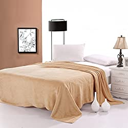 AAZEEM Single Bed Coral Blanket