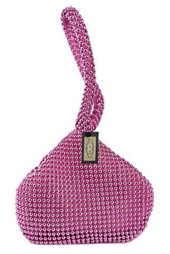 GFM Fashion, Poschette giorno donna Multicolore multicolore Small Bright Pink (VGLB-11)